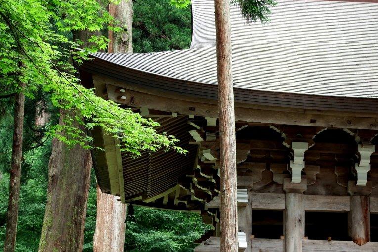 永平寺の鐘楼堂
