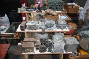 Antique radios and other collectibles