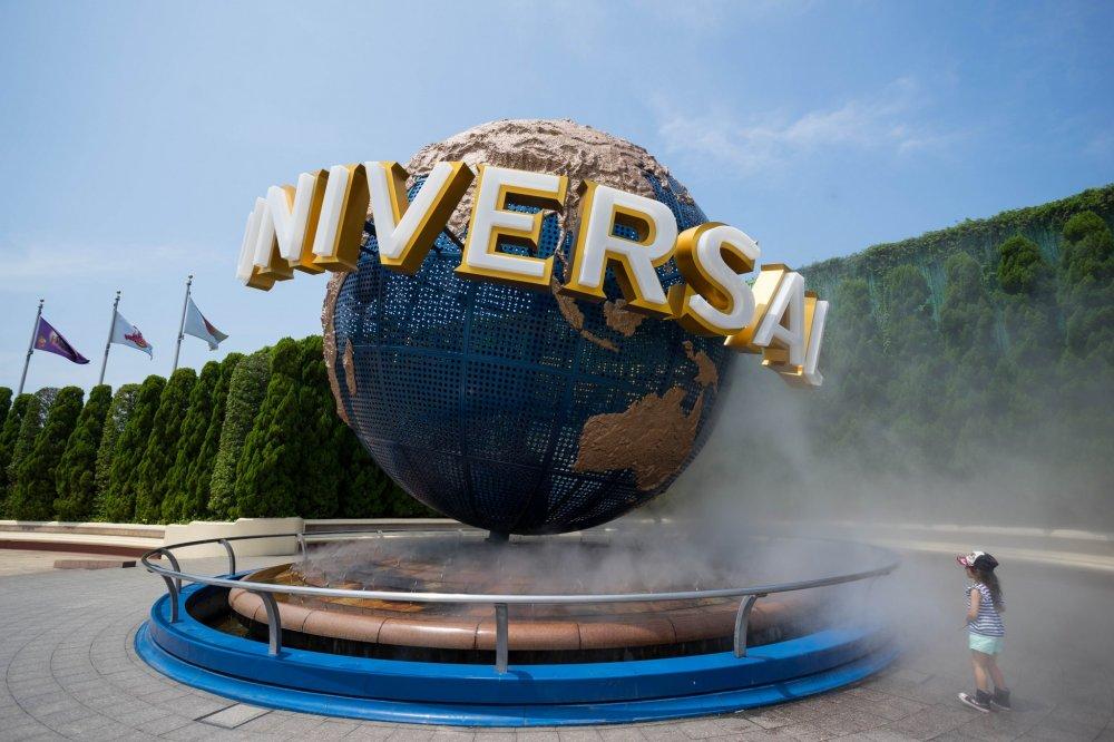 Biểu tượng mang lại nụ cười cho trẻ em mọi thế hệ, quả cầu logo ấn tượng universal