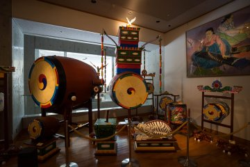 <p>Drum instruments from Korea</p>