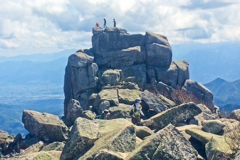 Climbing Mount Kinpu