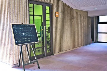<p>二楼的小办公室/会议厅</p>