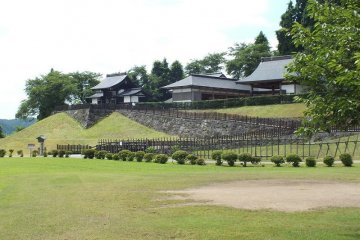 <p>The stage compound&nbsp;at the Daisen City Maharoba Noh Theatre in Akita Prefecture.</p>