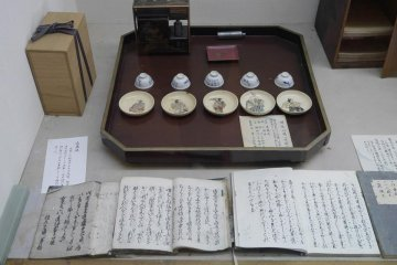 <p>Artifacts in the Museum at the&nbsp;Daisen City Maharoba Noh Theatre in Akita Prefecture.</p>