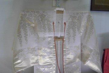 <p>Noh Kimono&nbsp;at the Daisen City Maharoba Noh Theatre in Akita Prefecture.</p>