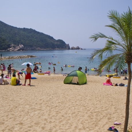 Bãi biển Keya ở Fukuoka