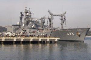 JSDF ships