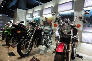Heaven for motorcycles lovers!