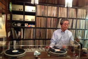 Yusa-san manning the decks at Chigusa
