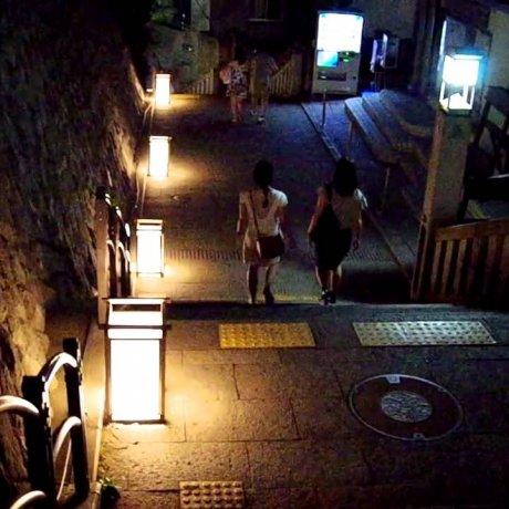 에노시마 등불