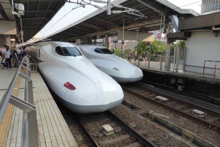 First Time on The Shinkansen