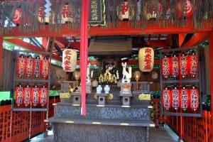 Main area of shrine
