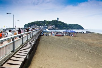 Enoshima Island and Beach