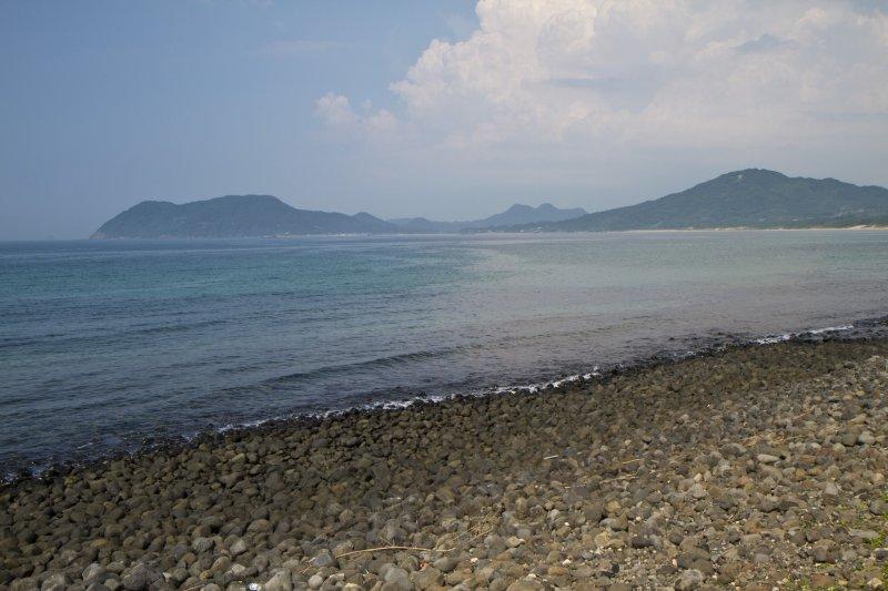 <p>Looking east toward Nogita Beach</p>