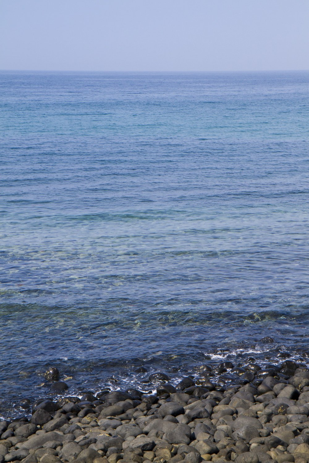 Many shades of blue in the Genkai-Nada Sea to ponder