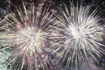 Fukuyama Ashida River Fireworks Festival