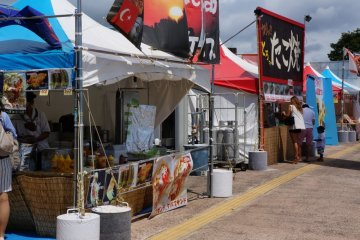 <p>Some outside food vendors</p>