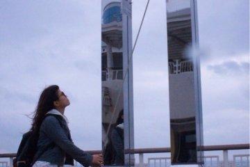 <p>木更津岛上的摇钟</p>