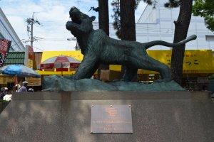 Hanshin Tiger เสือสัญลักษณ์คู่สนามเบสบอลแห่งนี้