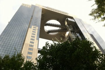 Umeda Sky Building at Twilight