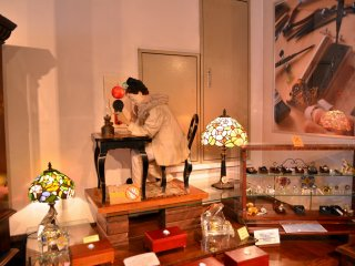 Interior of Kyoto Music Box Museum