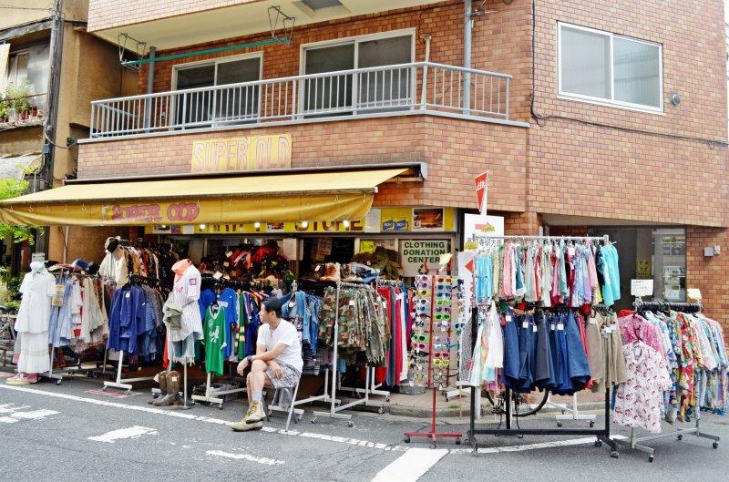 <p>Koenji ย่านของมือสองราคาไม่แพงอยู่ใกล้กับชินจุกุ</p>
