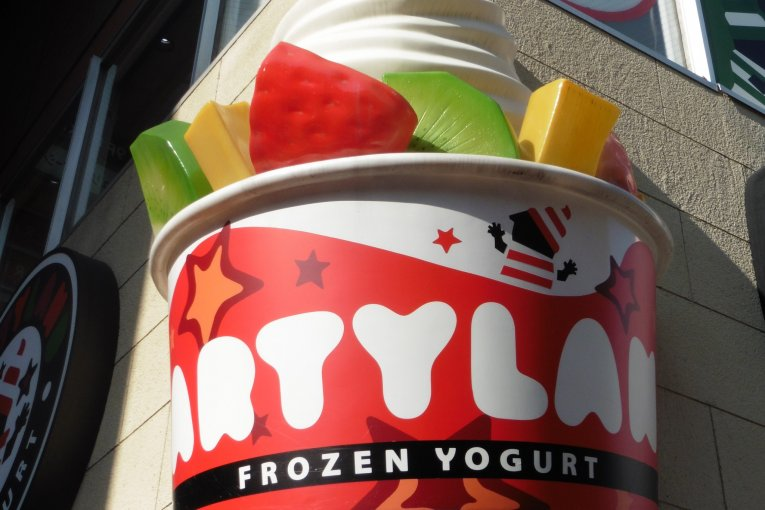 Frozen Yogurt di PartyLand