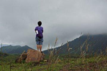 เมืองสวรรค์ในปล่องภูเขาไฟ Aso
