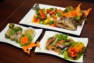 <p>Mouth-watering Thai cuisine&nbsp;</p>