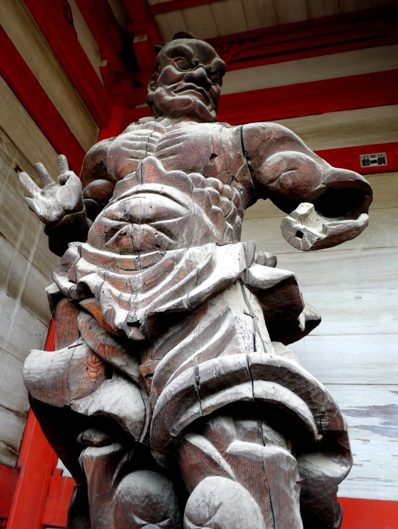 <p>One of the gate guardians</p>