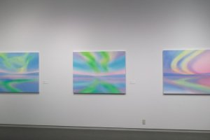 Paintings by Naoko Tomioka from a special exhibition
