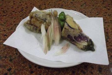 <p>Light, tasty tempura for dinner</p>