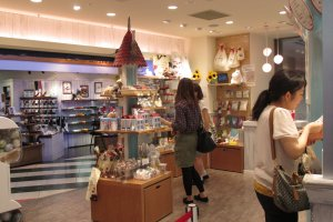 The Moomin Stand in Tennoji is located in Mio Mall