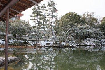 후쿠이 양호관 정원