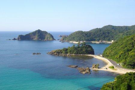 시마네의 비밀 사사고 해변