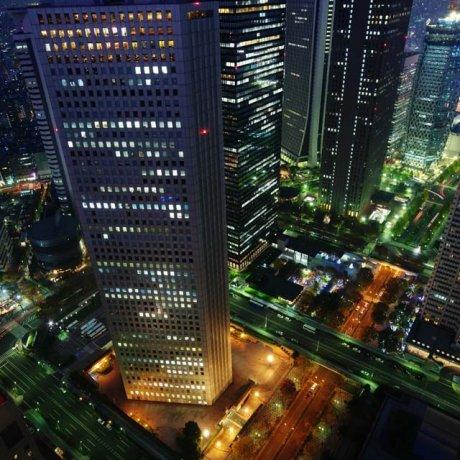 ТОП 3: смотровые площадки Токио