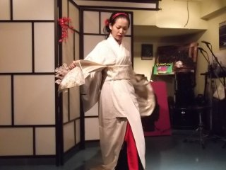 Lady Nana continues her dance