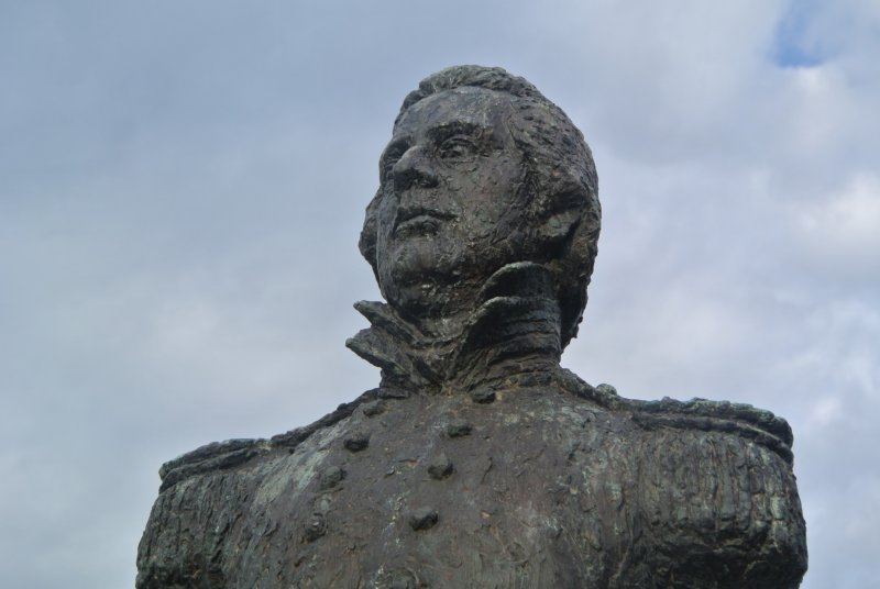 <p>Commodore Matthew Perry, who began negotiations which led to Japan opening up to the outside world</p>