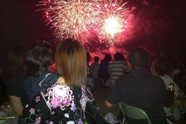 Festival Kembang Api Kazahaya