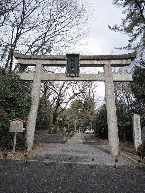 梨木神社の一番外側の鳥居