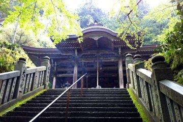 The Main Hall of Taiho-ji