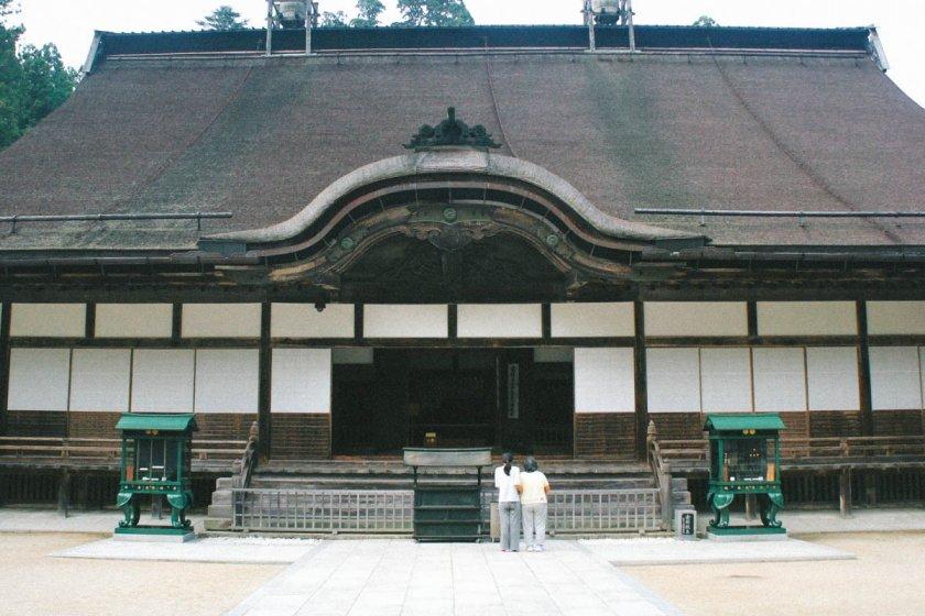 Pusat ajaran Buddha Shingon di Jepang yang berada di Kuil Kongobuji, Koyasan, Prefektur Wakayama.