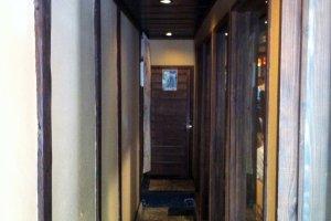 The entrance passageway