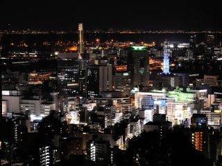 神戸 諏訪山公園ヴィーナス・ブリッジからの眺望