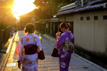 Summer Evening in Gion Higashiyama