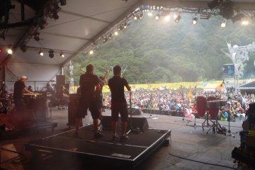 งานเทศกาลดนตรี Fuji Rock Festival