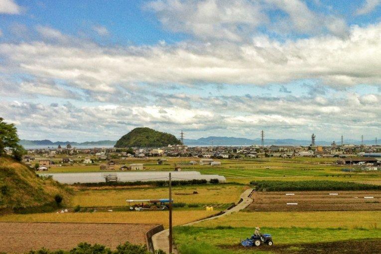 Dây thừng rơm tại Kashima Futani