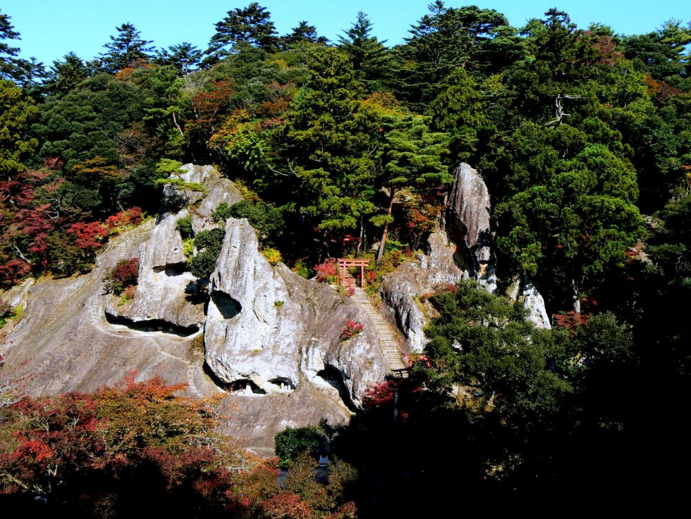 Magnificent rock formations