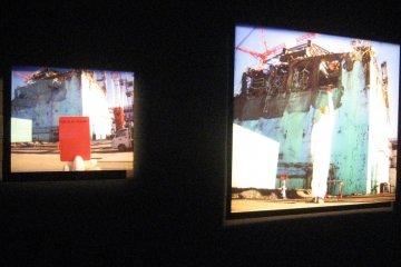 Thought-provoking images of the destruction at Fukushima