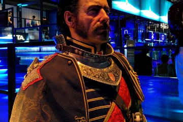 <p>Lifesize character from The Order: 1886</p>
